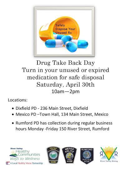 drug take back 2016